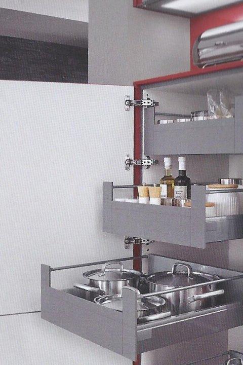 Verwonderend Opbergsysteem - Cars en kitchens ¨De Dijk Enkhuizen¨ PP-78